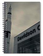 Saturn V Rocket Engine Detail, Used Spiral Notebook