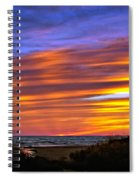 Sauble Sunset Spiral Notebook