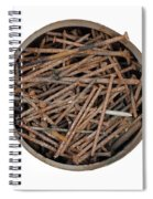 Strong Bouillon - Saucepan Full Of Rusty Nails Spiral Notebook