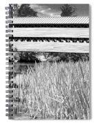 Saucks Bridge And Reeds Spiral Notebook