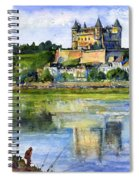 Saumur Chateau France Spiral Notebook