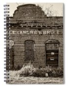 Savage Katrina Sepia Spiral Notebook