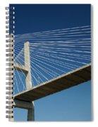 Savannah River Bridge Georgia Usa Spiral Notebook