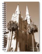 Savannah Sepia - Methodist Church Spiral Notebook