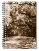 Savannah Sepia - The Old South Spiral Notebook