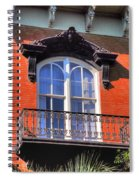 Savannah Window Spiral Notebook