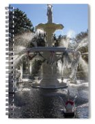 Savannah Winter Dream Spiral Notebook