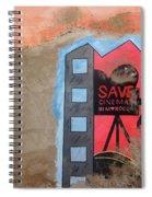 Save Cinema In Morocco Spiral Notebook