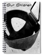 Save Our Children Spiral Notebook