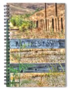 Save Our Farms Spiral Notebook
