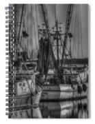 Save The Lowcountry Shrimping  Spiral Notebook