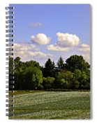 Savie Island Flower Garden Spiral Notebook