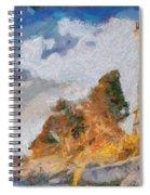 Savudrija Lighthouse Spiral Notebook