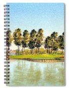 Sawgrass Tpc Golf Course 17th Hole Spiral Notebook
