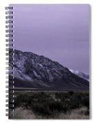 Sawtooth Mountain In December Spiral Notebook