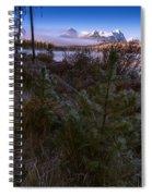 Sawtooth Mountain Spiral Notebook