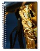 Sax Spiral Notebook