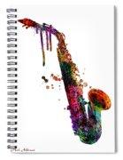 Saxophone 2 Spiral Notebook