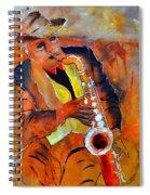 Saxplayer 88 Spiral Notebook