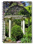 Sayen Garden Dream Spiral Notebook