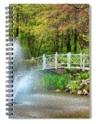 Sayen Garden Impression Spiral Notebook