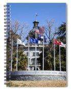 Sc Veterans Monument Spiral Notebook