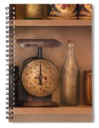 Scale - The Family Scale Spiral Notebook