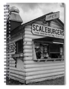 Scaleburgers Spiral Notebook
