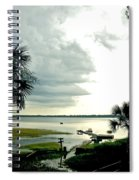 Scallop Waters Spiral Notebook