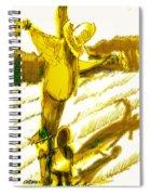 Scarecrow Babysitter Spiral Notebook