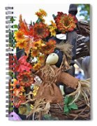 Scarecrow In A Chair Spiral Notebook
