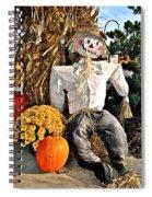 Scarecrow Spiral Notebook