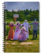 Scarecrow Wedding Spiral Notebook