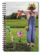 Scarecrows Spiral Notebook
