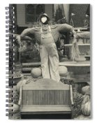 Scarecrows In Autumn Gatlinburg Tennessee Spiral Notebook