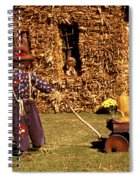 Scarecrows Play Too Spiral Notebook