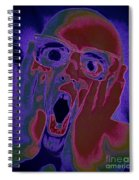 Scared Silly Spiral Notebook