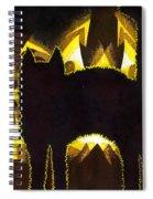 Scaredy Cat Spiral Notebook