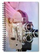 Scarf Camera Spiral Notebook
