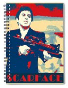 Scarface Spiral Notebook