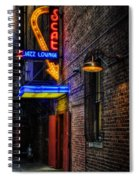 Scat Lounge Living Color Spiral Notebook