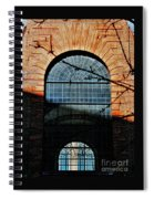 Scene In The Old City, London Spiral Notebook