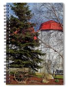 Scene In Vermont Spiral Notebook