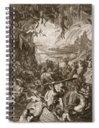 Scene Of Hell, 1731 Spiral Notebook