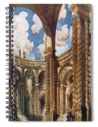 Scenery Design For The Betrothal Spiral Notebook