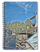 Scenes From An Abandoned Factory In South Dakota 2 Spiral Notebook