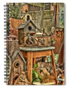 Scenes From An Outside Sale Spiral Notebook