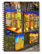Scenes Of Nola Spiral Notebook