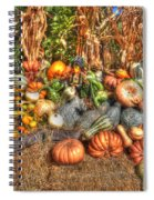 Scenes Of The Season Spiral Notebook