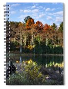 Scenic Autumn At Oakley's Spiral Notebook